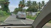 New Mahindra Scorpio Spy Shot Rear