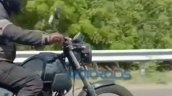 New Royal Enfield Himalayan Spy Shot Front Right