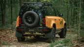 Land Rover Defender Trophy Edition Rear Forest