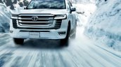 New Land Cruiser Front Snow Action