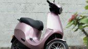 Ola Electric Scooter Pink Parked