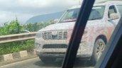 New Mahindra Scorpio Spied Front Left