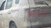 New Mahindra Scorpio Spied Rear Left