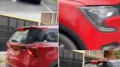 Mahindra Xuv700 Front Rear Right Red