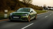 Audi Rs 5 Sportback Front Left Action Shot
