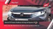 New Honda Amaze Front Grille
