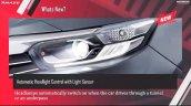 New Honda Amaze Headlight