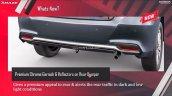 New Honda Amaze Rear Bumper