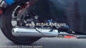 650cc Royal Enfield Cruiser Spy Exhaust