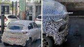 Tata Hbx Mirco Suv Spy Shot Rear Front