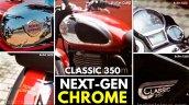 New Royal Enfield Classic 350 Chrome Colour