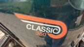 New Royal Enfield Classic 350 Side Panel
