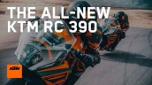 New Ktm Rc 390 Action Race Track