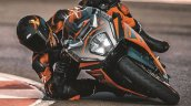 New Ktm Rc 390 Lean Right Track