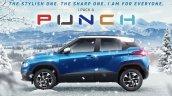 Tata Punch Left Side Profile