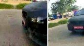 New Maruti Baleno Spy Shot Led Drl