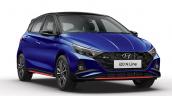 Hyundai I20 N Line Front Right Studio