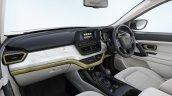 Tata Safari Gold Edition White Gold Interior