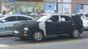 7 Seat Hyundai Creta Seven Seater Spy Shot Iab