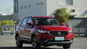 Mg Zs Ev Red Front Three Quarters 1