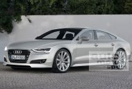 Rendering - Audi A9 to be based on the next gen Q7