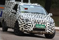 Spied - 2014 Fiat Strada 3-door doublecab pickup testing in Brazil
