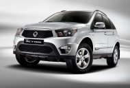 Russia - A press shot of the Ssangyong Actyon facelift surfaces on the web