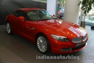2014 BMW Z4 Facelift launched at INR 68.9 lakhs [Gallery, Video Updated]