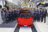 Last Lamborghini Gallardo built..And sold