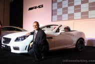 Mercedes SLK 55 AMG launched at INR 1.25 crores [Images and details updated]