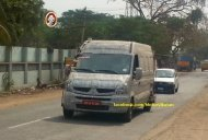 Spied - Next gen Tata Winger caught on test