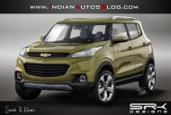 IAB Rendering - EcoSport-challenging Chevrolet Adra sub-4m SUV production model