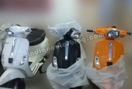 IAB Report - Vespa S begins arriving at Indian dealers [Update - Launch on March 4]