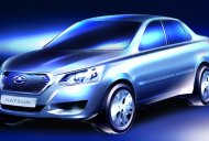 Russia - Datsun releases sketch of not-for-India sedan