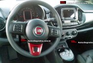 Brazil - Fiat Uno facelift spied with a button-operated gearbox