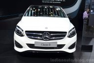 Paris Live - Mercedes B Class facelift (India-bound)