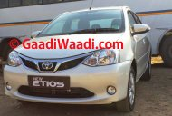 Spied - Toyota Etios facelift fully revealed in India