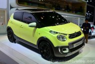 Paris Live - Citroen C1 Urban Ride, C4 Cactus Airflow 2L concepts
