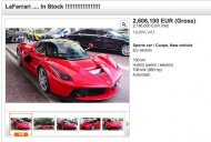 Report - 100km old LaFerrari listed for double the price at INR 20.11 Cr
