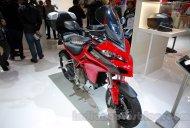 EICMA 2014 Live - 2015 Ducati Multistrada 1200 with Testastretta DVT engine