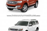 2015 Ford Endeavour vs older model - Old vs New