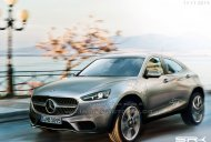 IAB Rendering - Mercedes G-Code compact SUV production version
