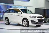 IAB Report - Chevrolet Captiva Sport Edition showcased at the Thailand Motor Expo