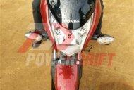 Honda CB Unicorn 160 snapped during TVC shoot - Spied