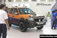 Modified Tata Safari Storme showcased - IAB Report
