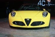 2015 NAIAS Live - Alfa Romeo 4C Spider