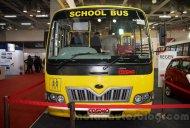 Mahindra Tourister Cosmo, Maxximo school van showcased - IAB Report