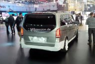 "Mysterious Mercedes V-Class ""Concept V ision e"" spotted - Report"