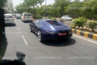 DC Avanti with blue exterior color spotted in Delhi - Spied