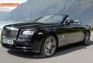 2016 Rolls Royce Dawn - Rendering